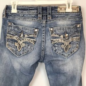 Rock Revival Jeans - Rock Revival Barbila Straight Jeans Size 28